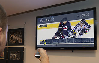 Interactive IPTV, digital signage