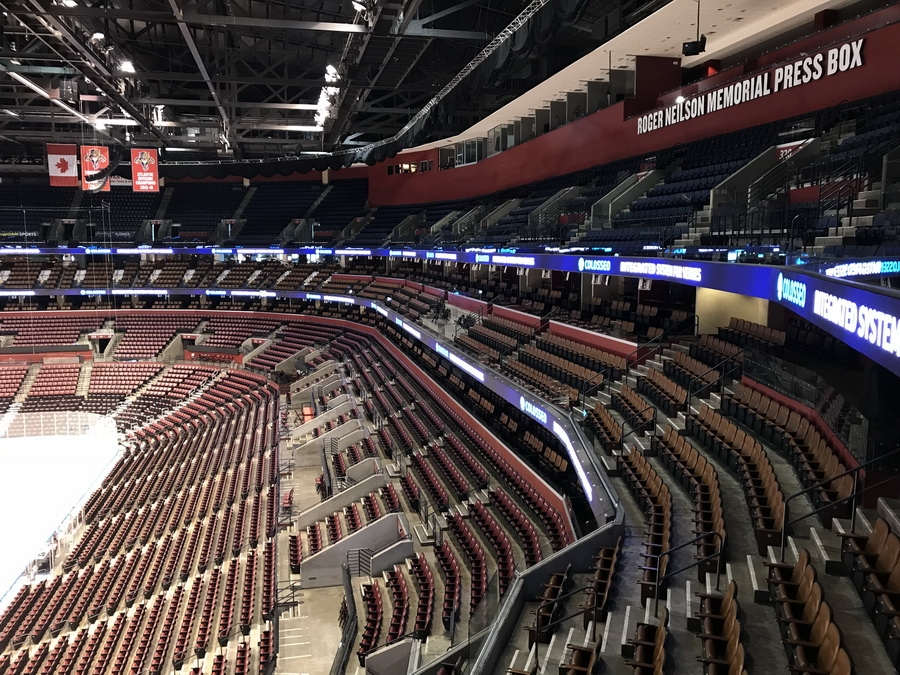 Bb Amp T Center Scoreboards Video Cubes Led Video Displays