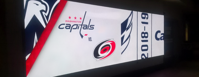 Capital One Arena fine pitch screens by ColosseoEAS